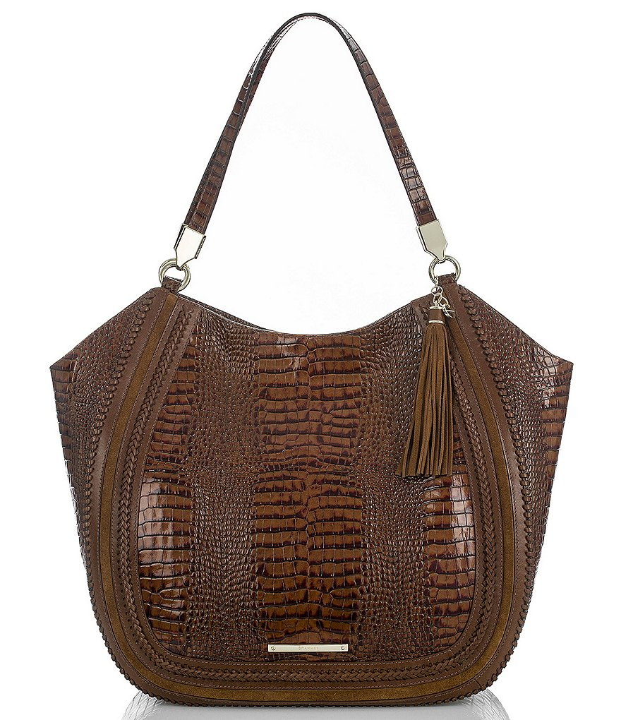 Brahmin Rockdale Collection Thelma Tasseled Tote