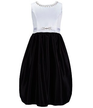 American Princess Big Girls 7-16 Jeweled-Neckline Dress