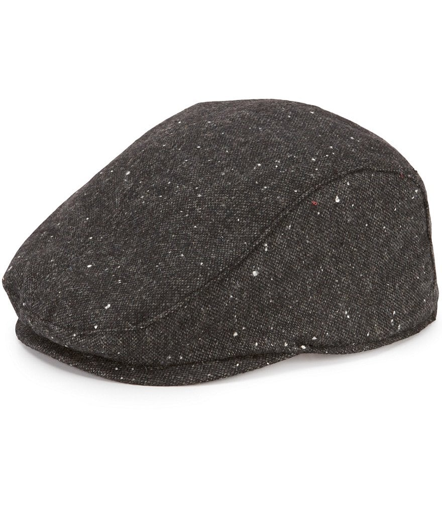 Cremieux Speckled Tweed Driver Hat