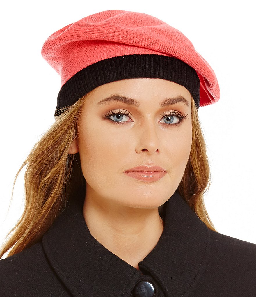 kate spade new york Contrast Bow Beret