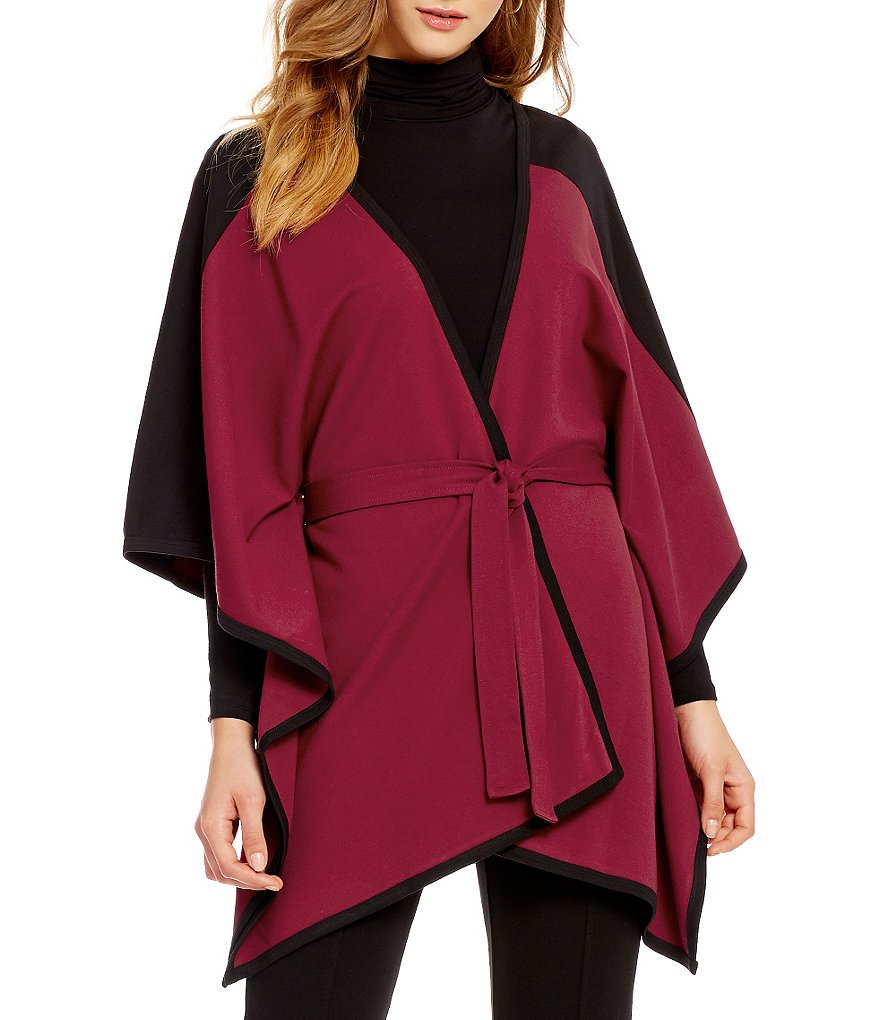 Dillard´s Belted Poncho
