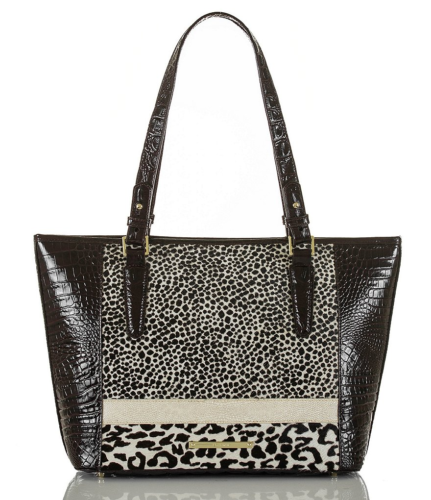 Brahmin Surrey Collection Medium Asher Haircalf Tote
