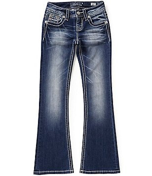 Miss Me Girls Big Girls 7-16 Cross-Embellished Bootcut Jeans