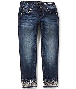 Miss Me Girls Big Girls 7-16 Embellished Skinny Jeans