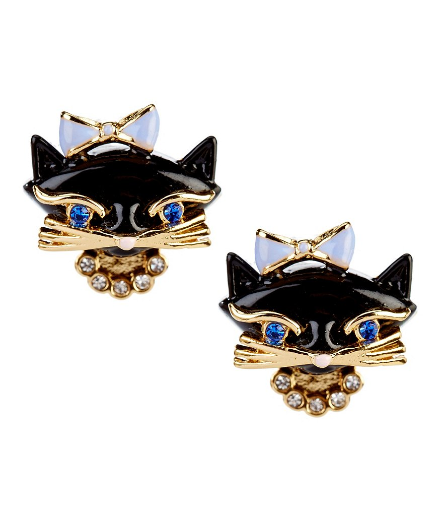 kate spade new york Cat Stud Earrings