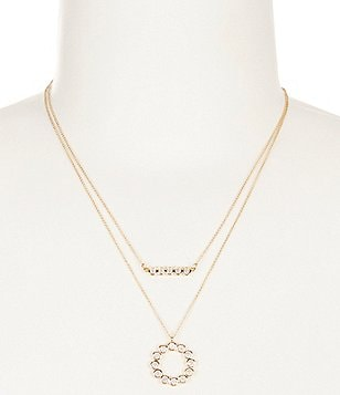 kate spade new york Full Circle Pendant Necklace Set