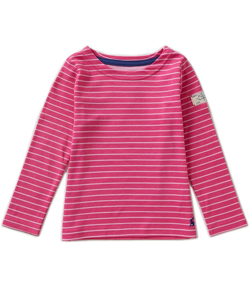 Joules Little Girls 3-6 Marina Striped Swing Top