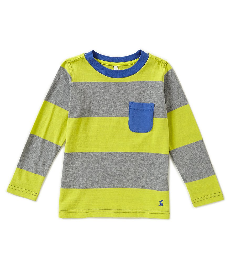 Joules Little Boys 3-6 Oscar Striped Top