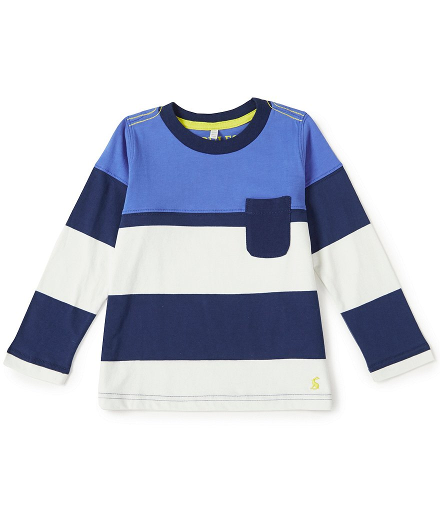 Joules Little Boys´ 3-6 Oscar Mixed-Media Top