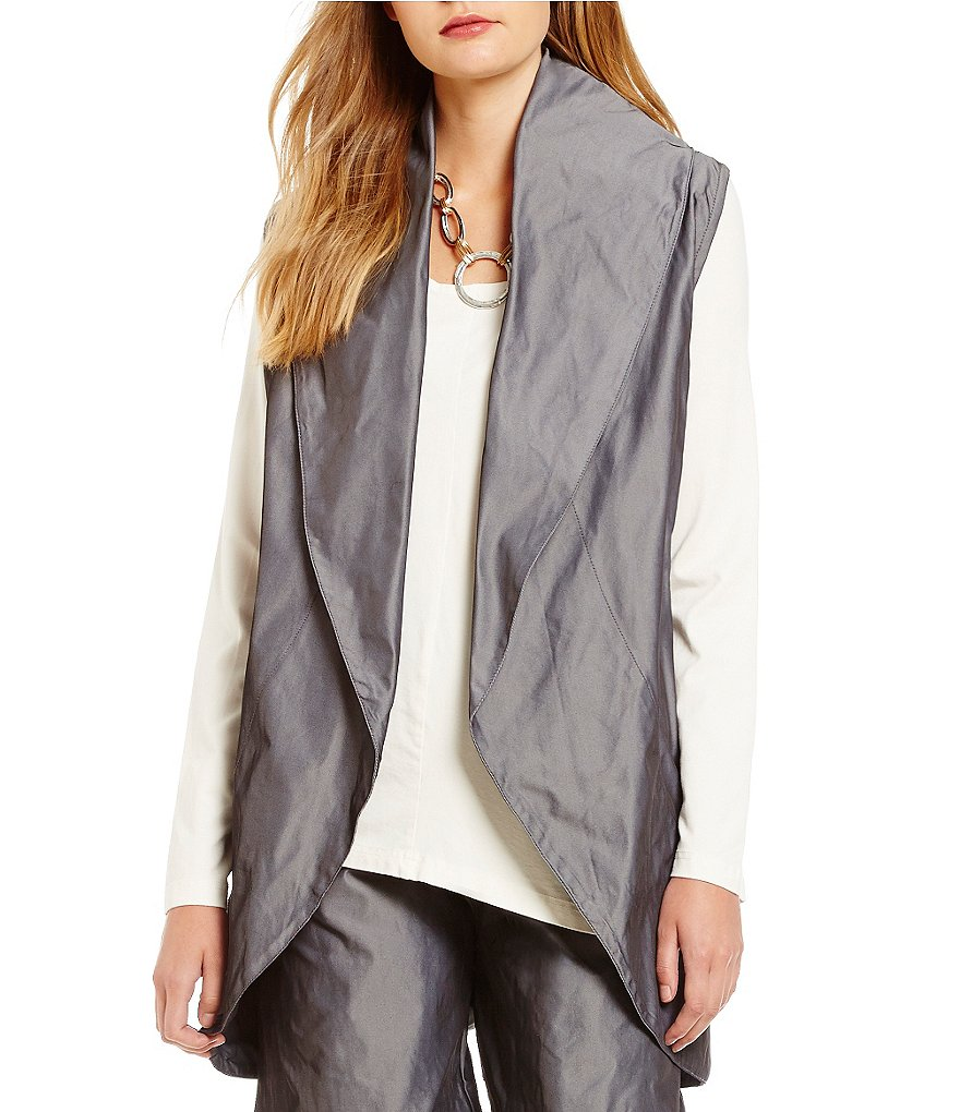 Bryn Walker Shawl Collar Wrap Vest