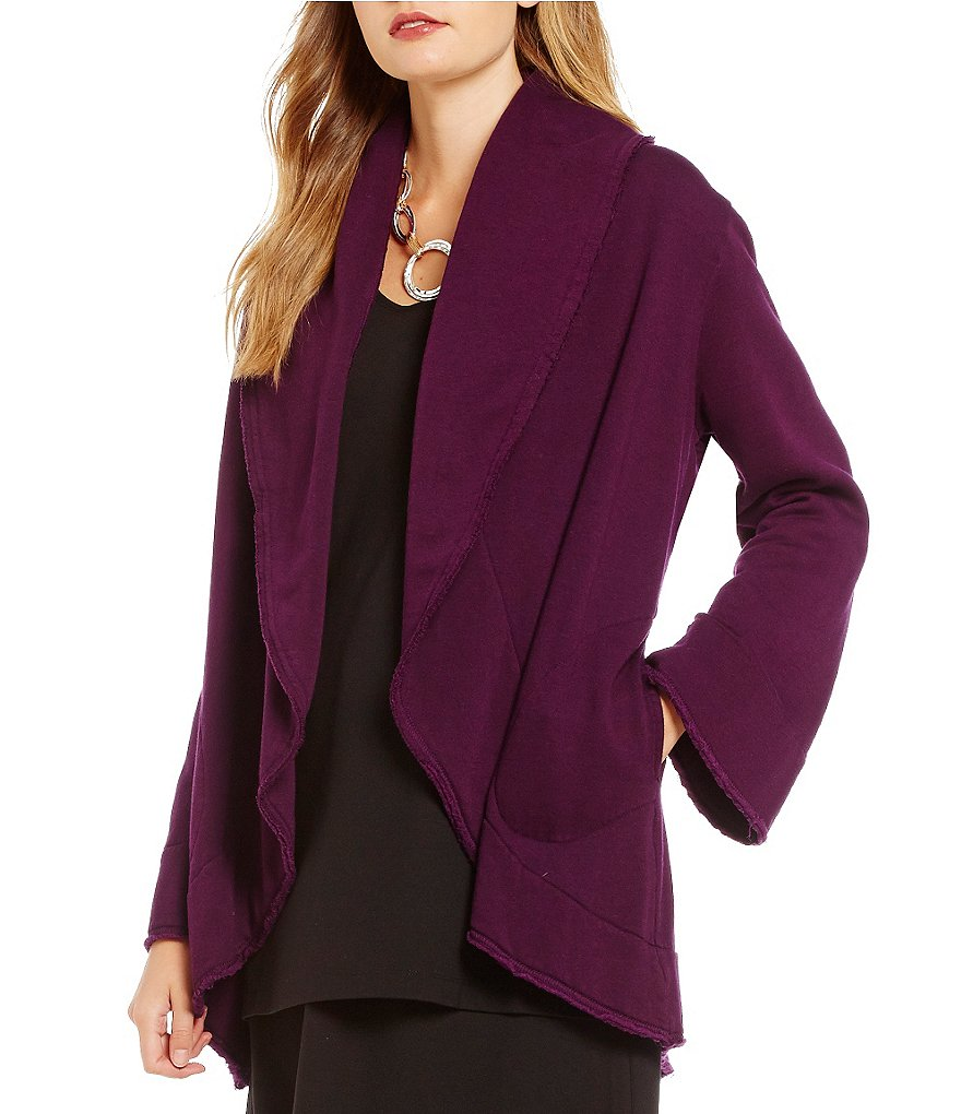 Bryn Walker Short Wrap Shawl Collar Coat