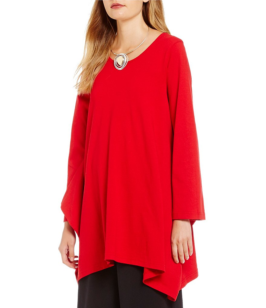 Bryn Walker Nahla Long Sleeve Drape Slouchy Tunic