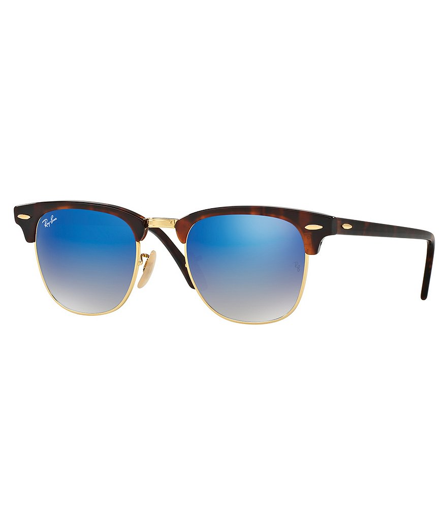 Ray-Ban Flash Clubmaster Sunglasses