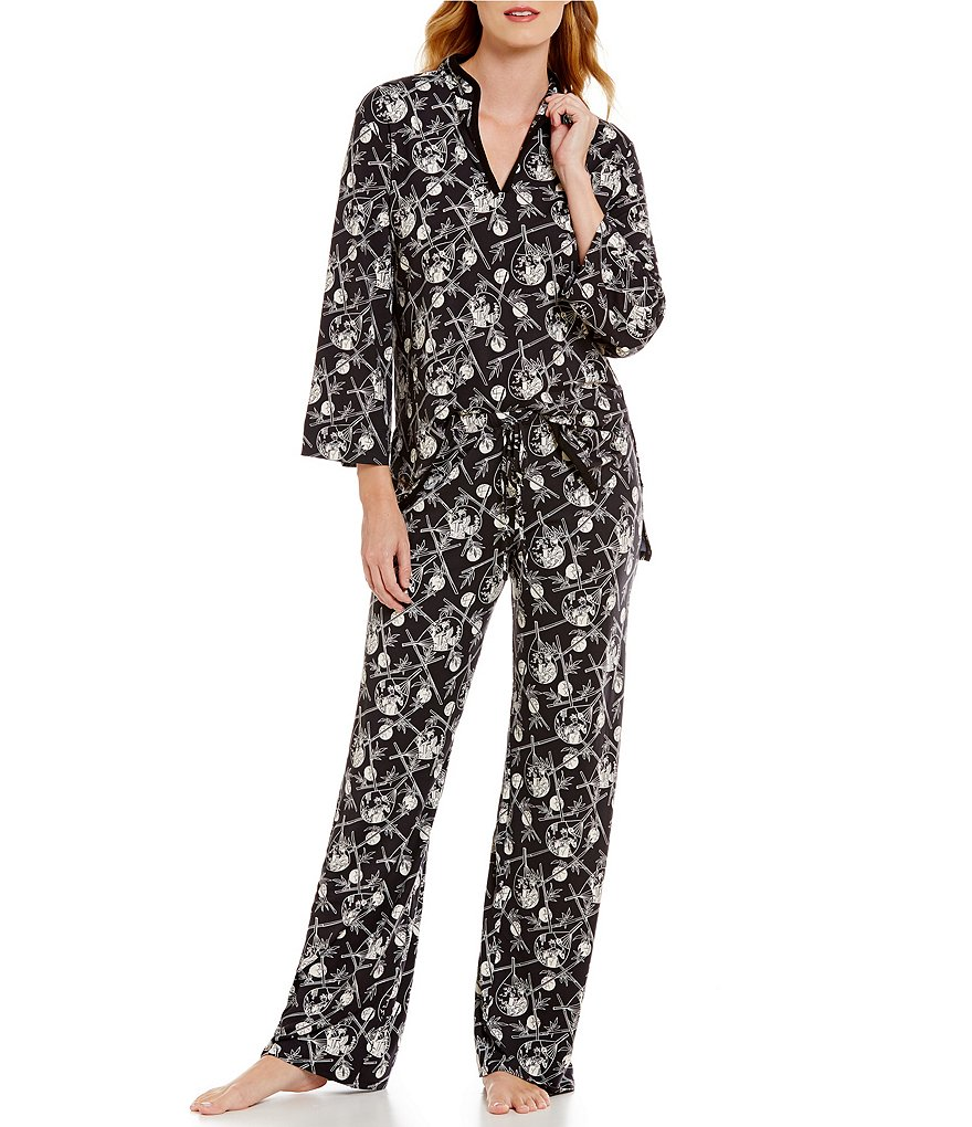 N by Natori Dancing Fans Pajamas