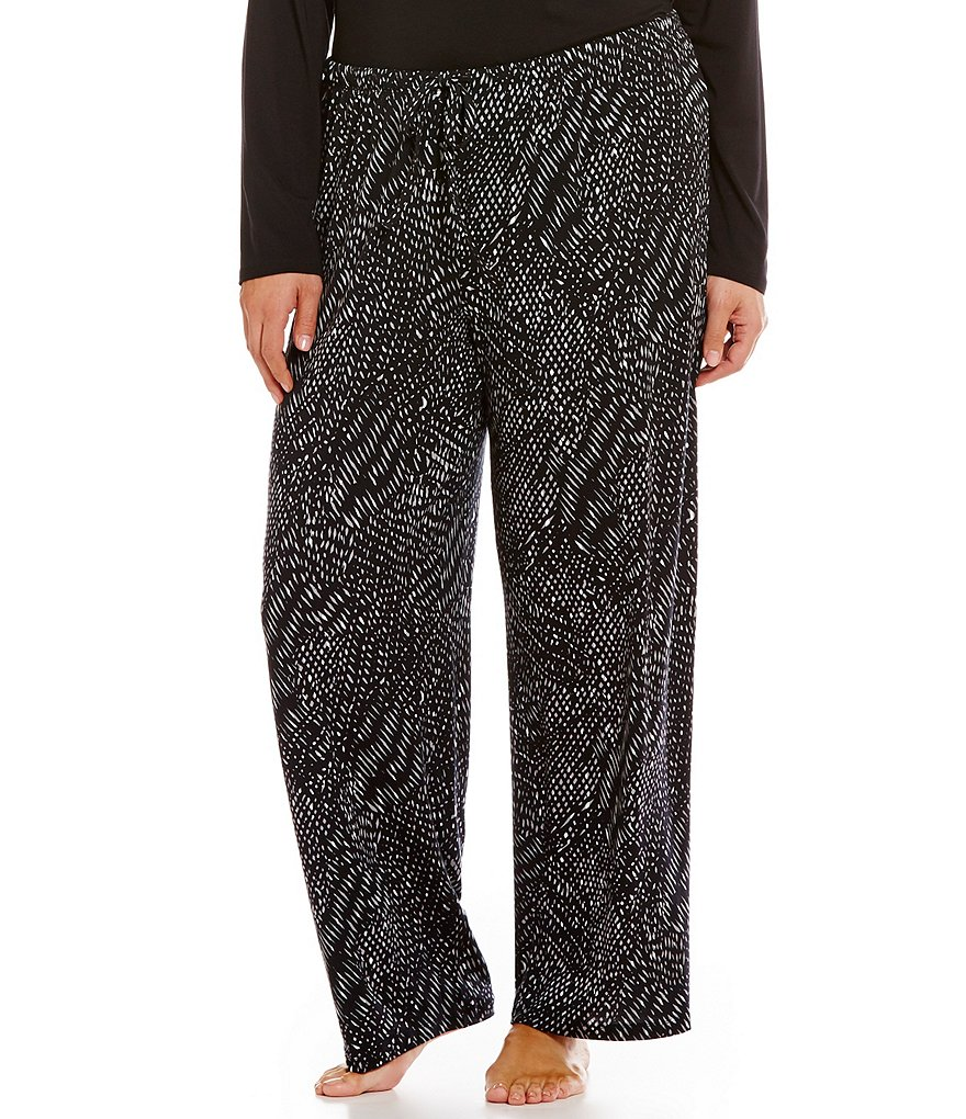Nottibianche TEMPtations Plus Geometric Jersey Sleep Pants