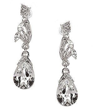 Nina Crystal Teardrop Earrings