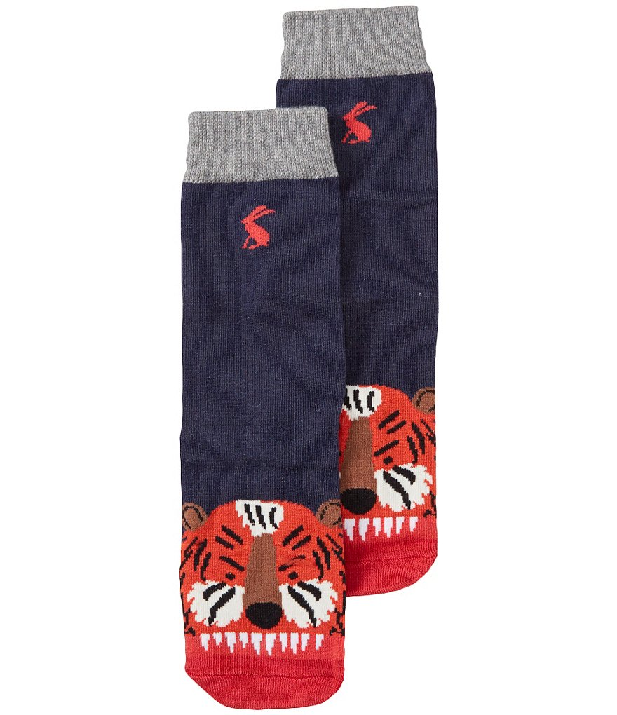 Joules Big Boys Tiger Character Socks