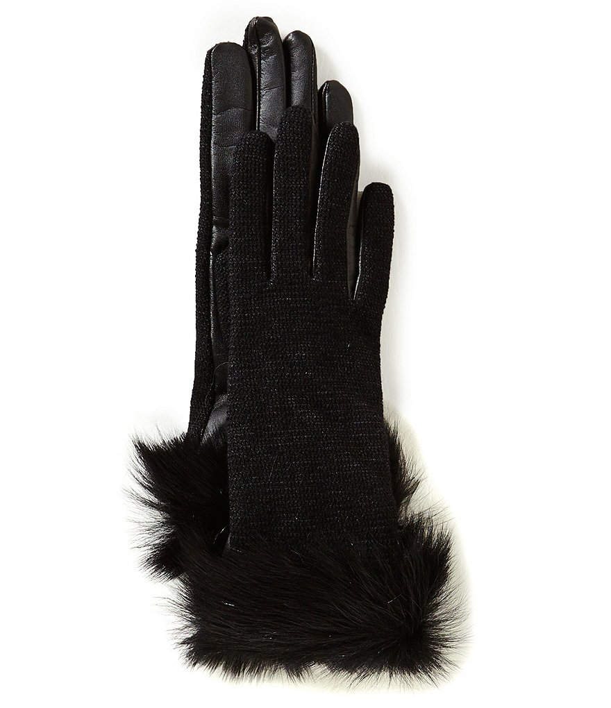 UGG® Toscana Shearling Cuff Combo Tech Gloves