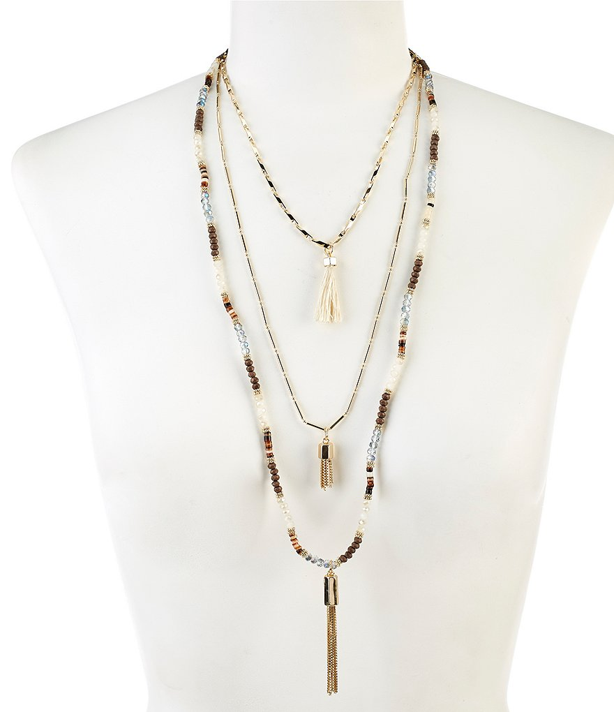 Anna & Ava Justin Multi-Strand Necklace