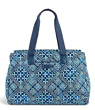 Vera Bradley Triple-Compartment Carry-On Travel Bag