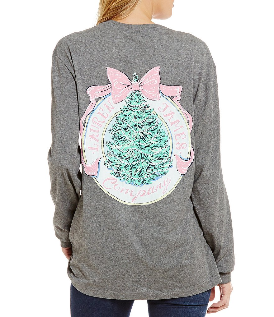 Lauren James Holiday 2016 Long-Sleeve Graphic Tee