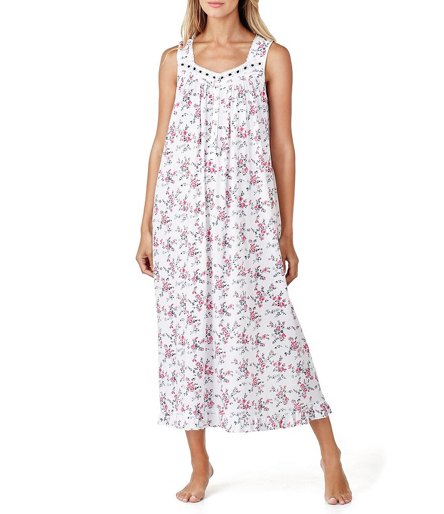 Eileen West Floral Ballet Nightgown