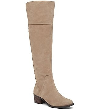 Vince Camuto Bendra Suede Over The Knee Riding Boots