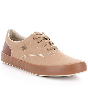 Sperry Men´s Wahoo CVO Herringbone Canvas Lace-Up Sneakers
