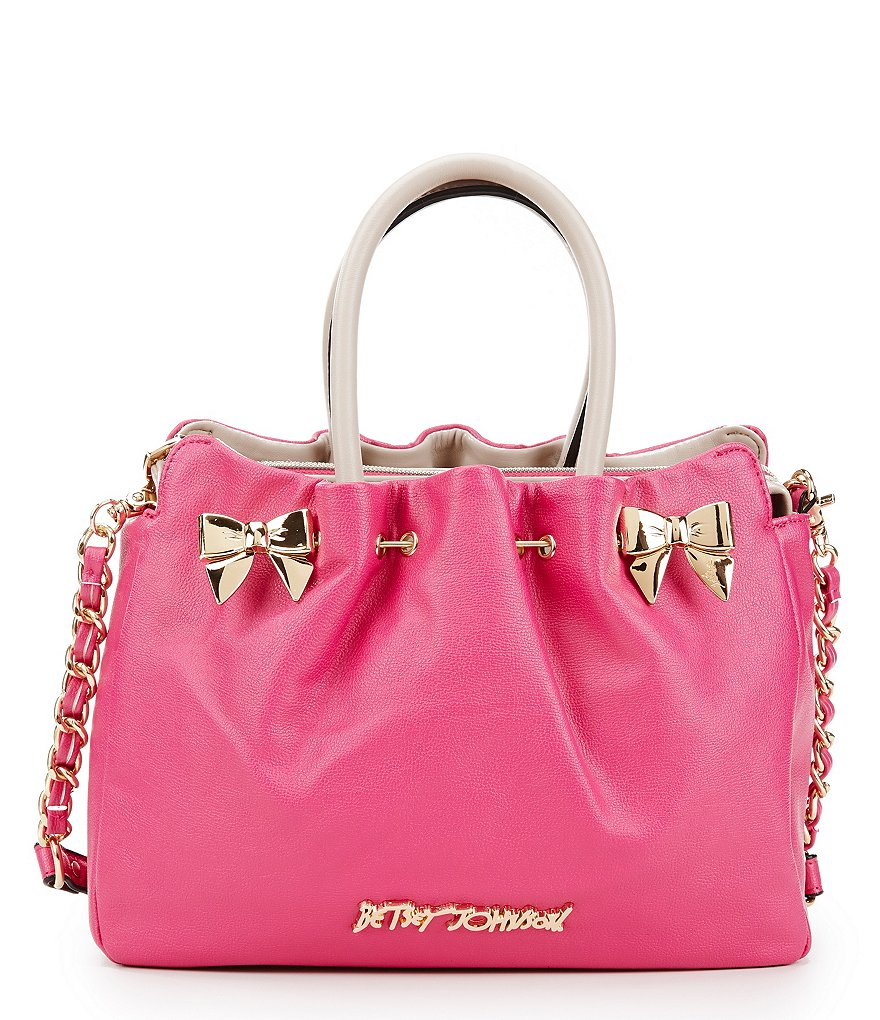 Betsey Johnson In A Pinch Satchel with Battery