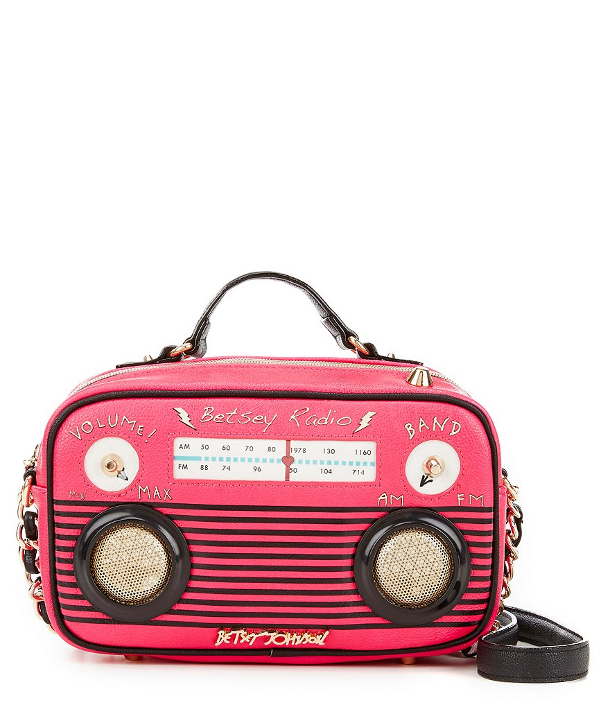 Betsey Johnson Here Comes Treble Cross-Body Bag