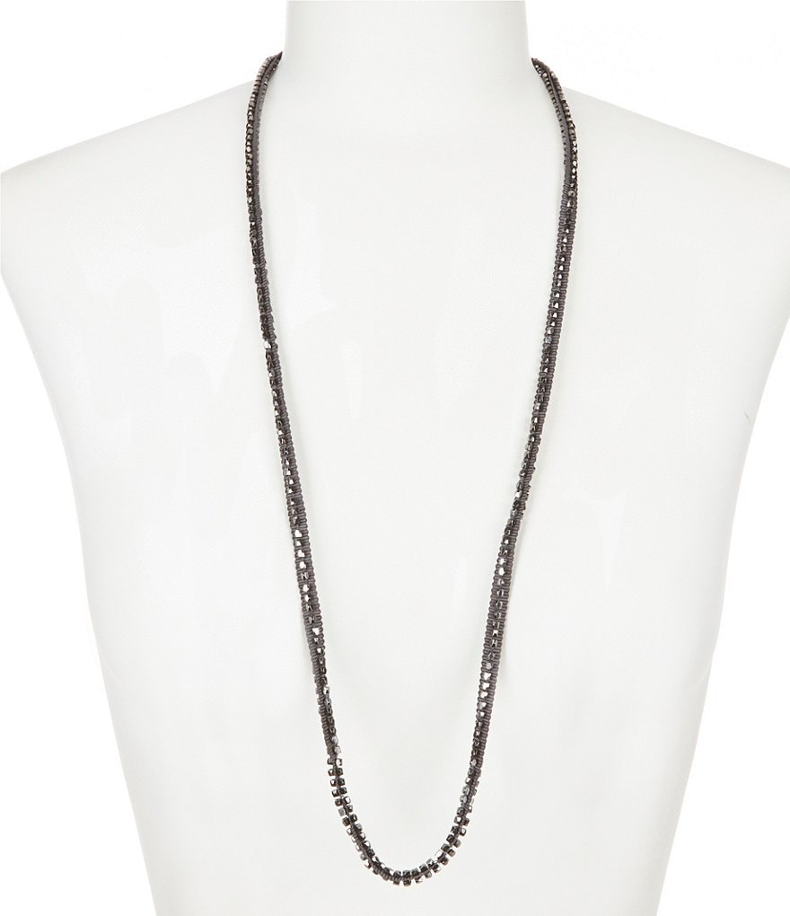 Eileen Fisher Beaded Necklace