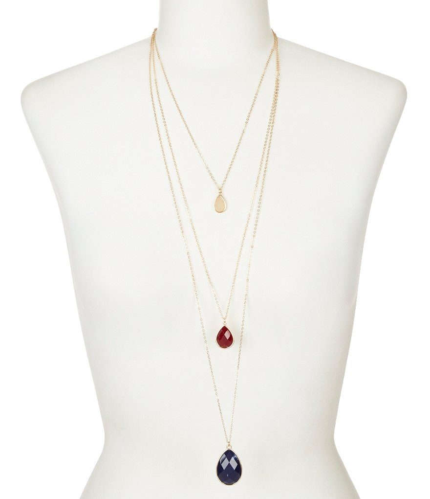 Anna & Ava Sophia Multi-Strand Necklace