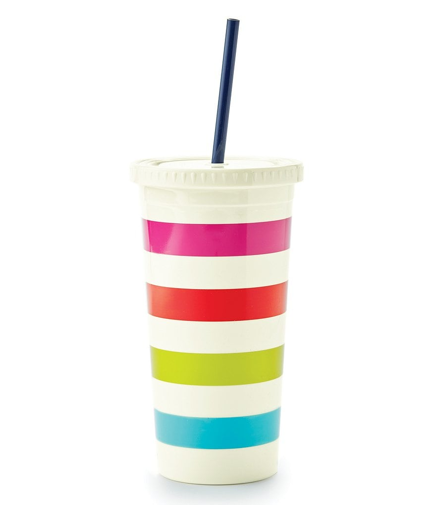 kate spade new york Candy Striped Insulated Tumbler