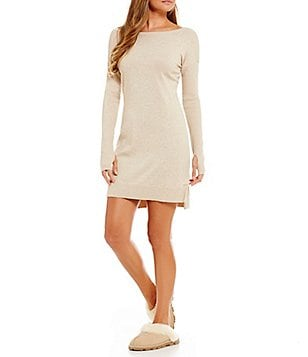 UGG® Liliana Sweater-Knit Lounge Dress