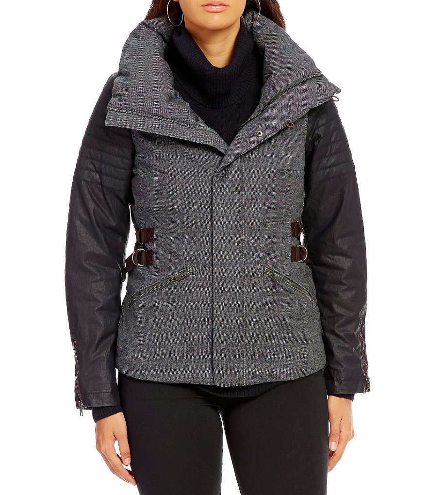 Sorel Joan of Arctic Single-Breasted Wool Down Jacket