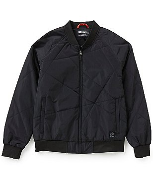 William Rast Zane Engineered Quilted Bomber Jacket