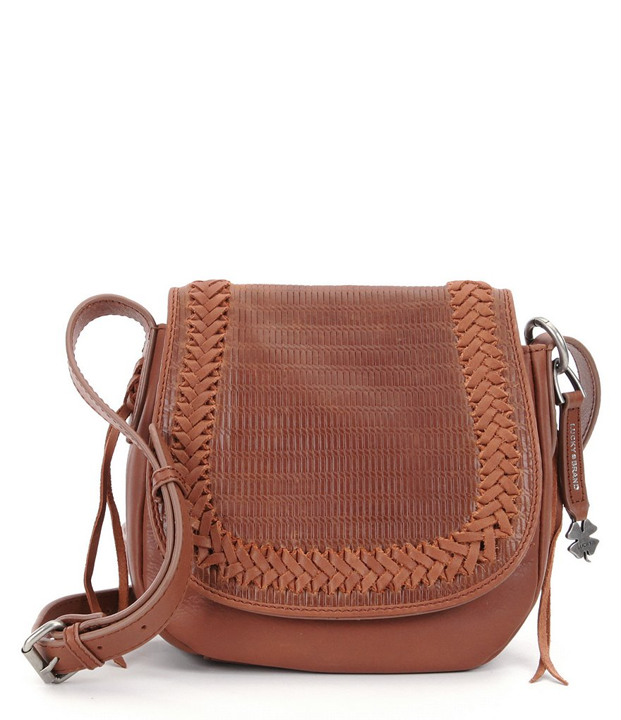 Lucky Brand Noah Woven Saddle Bag