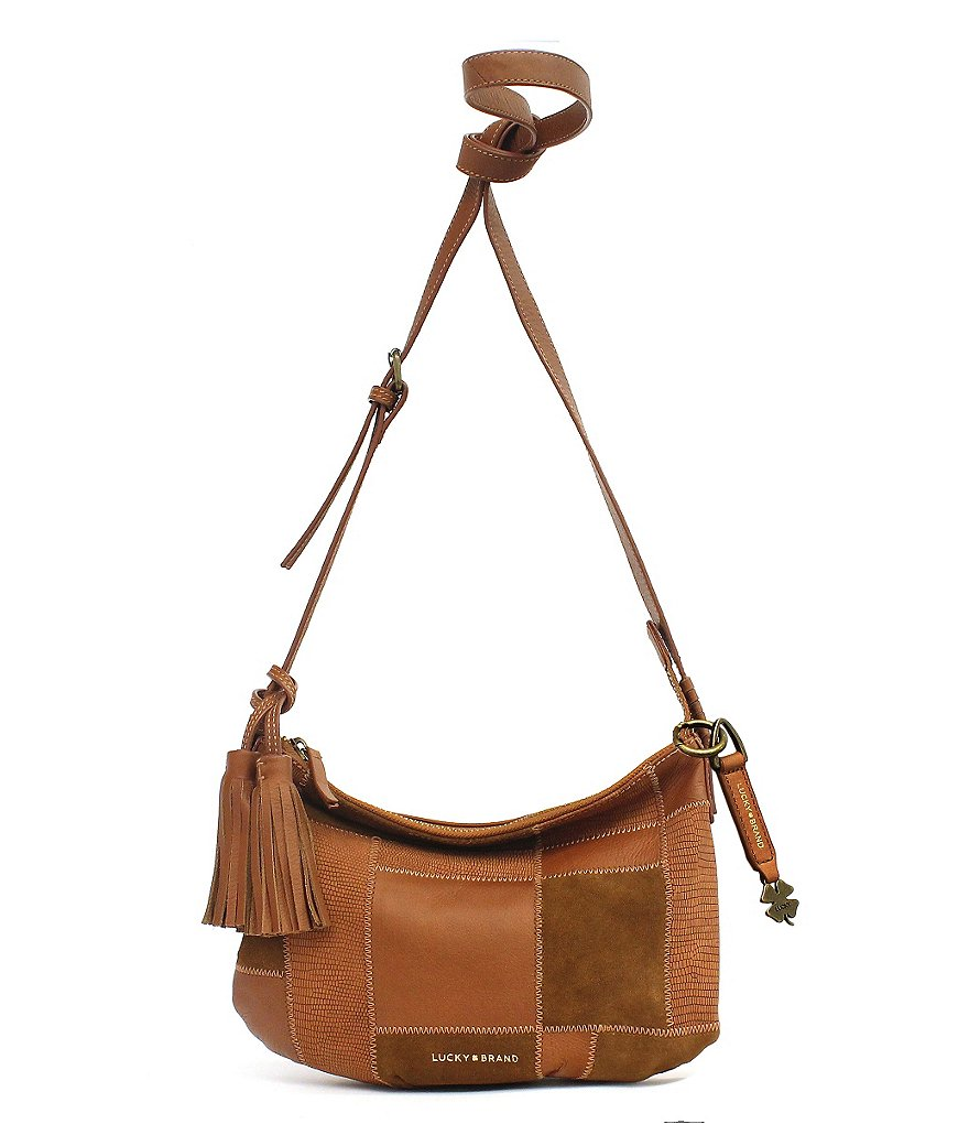 Lucky Brand Jade Patchwork Cross-Body Bag