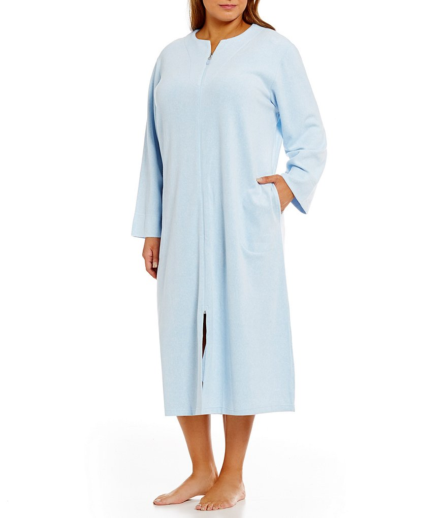 Miss Elaine Plus Luxe Fleece Robe