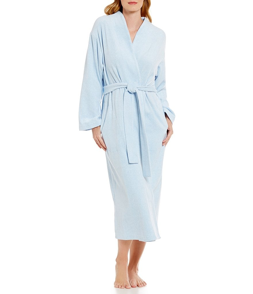Miss Elaine Luxe Fleece Wrap Robe