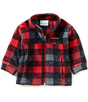 Columbia Baby Boys 12-24 Months Zing III Buffalo Plaid Fleece Jacket