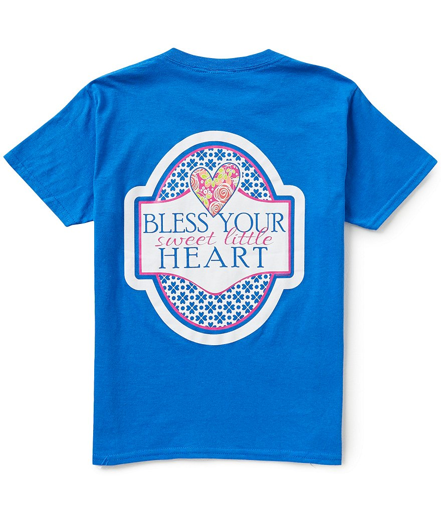 Itsa Girl Thing Big Girls 7-16 Bless Your Sweet Little Heart Tee