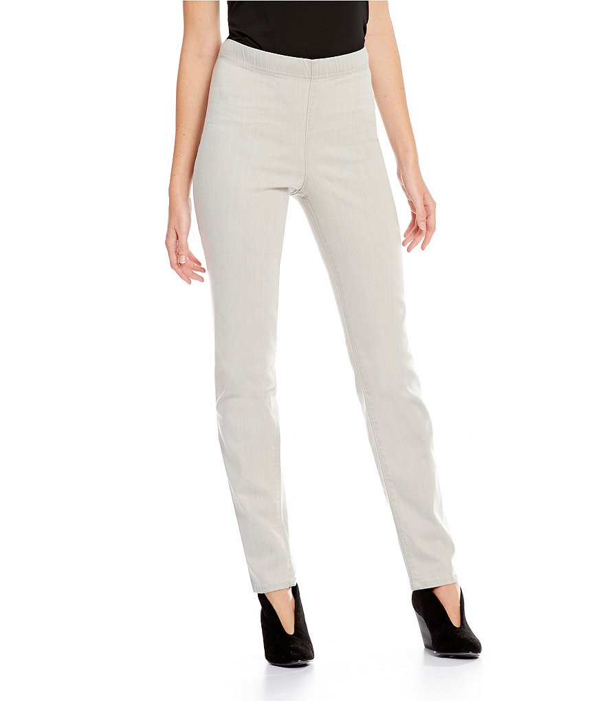 Eileen Fisher Organic Cotton Slim Pants