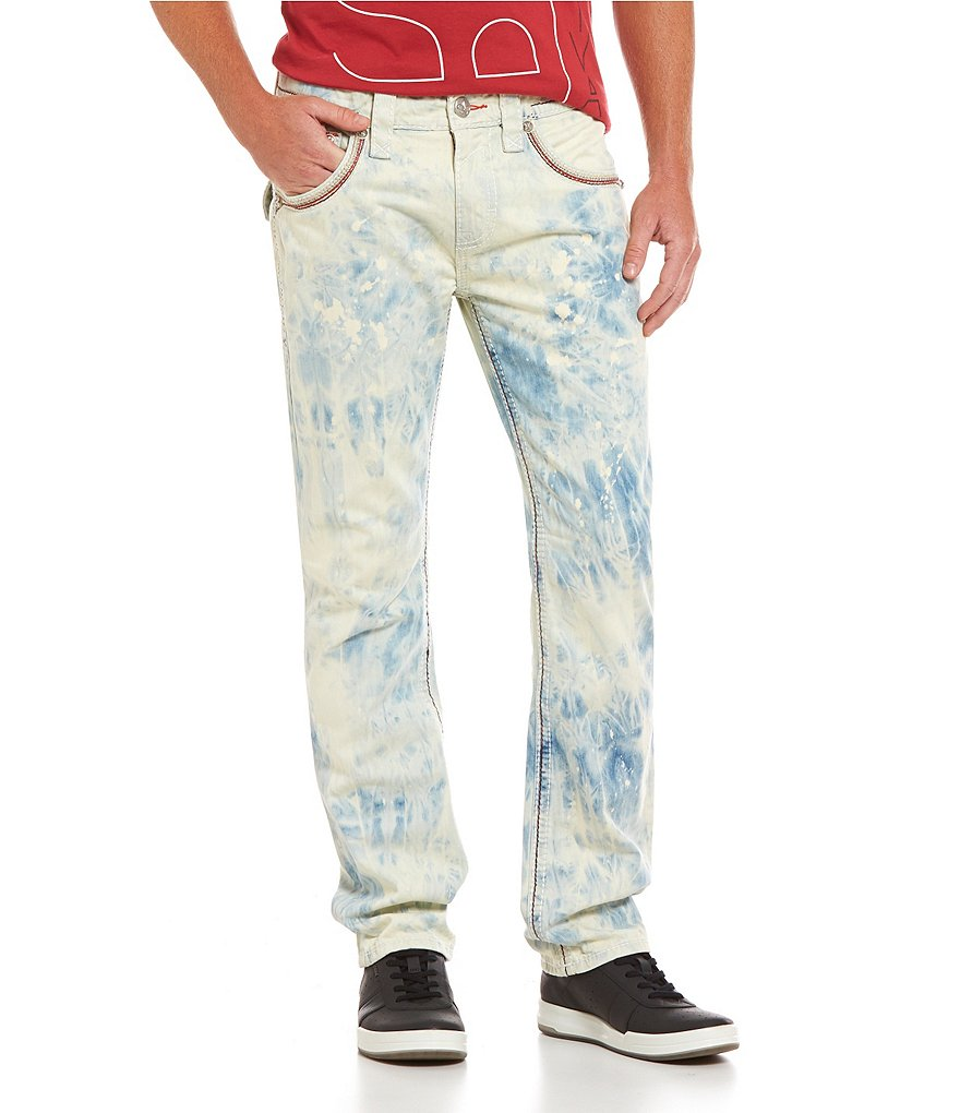Rock Revival Tie-Dye Wash Denim Jeans