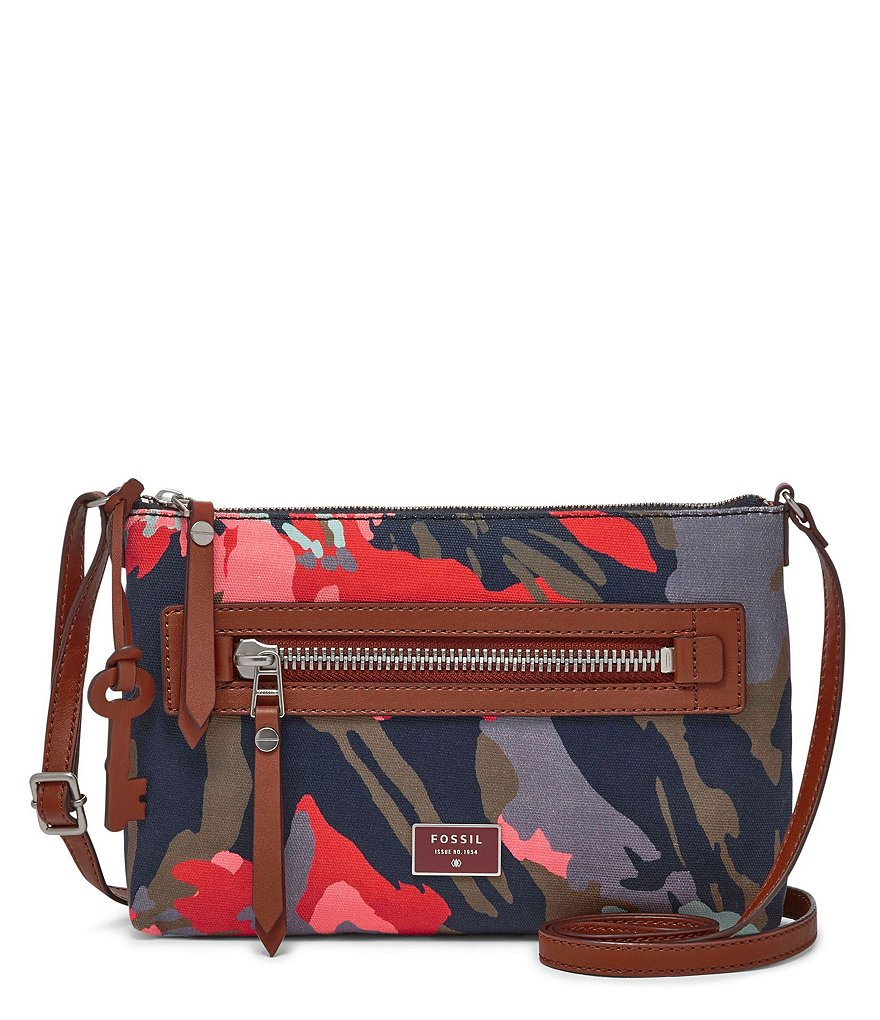 Fossil Dawson Floral Cross-Body Bag