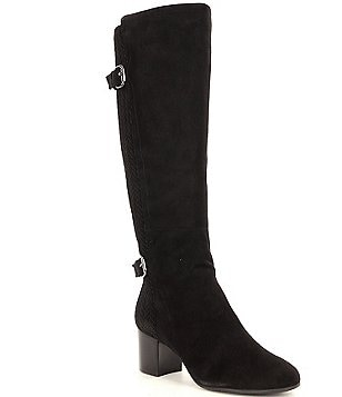 Nuture Garlyns Quilted Wide Calf Boots
