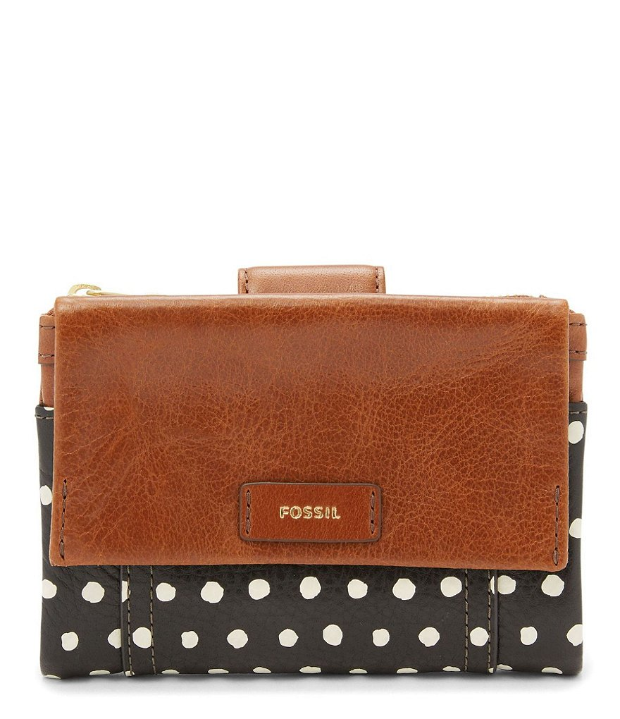 Fossil Ellis Dotted Multifunction Wallet