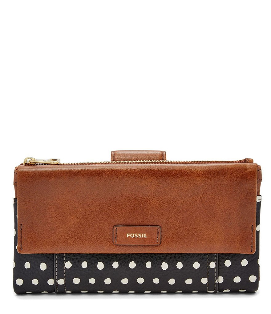 Fossil Ellis Dotted Clutch