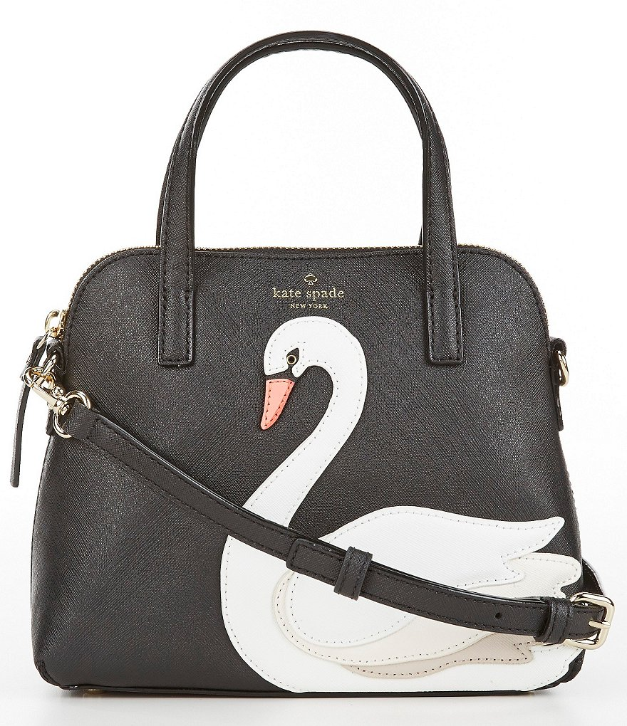 kate spade new york On Pointe Small Maise Swan Satchel