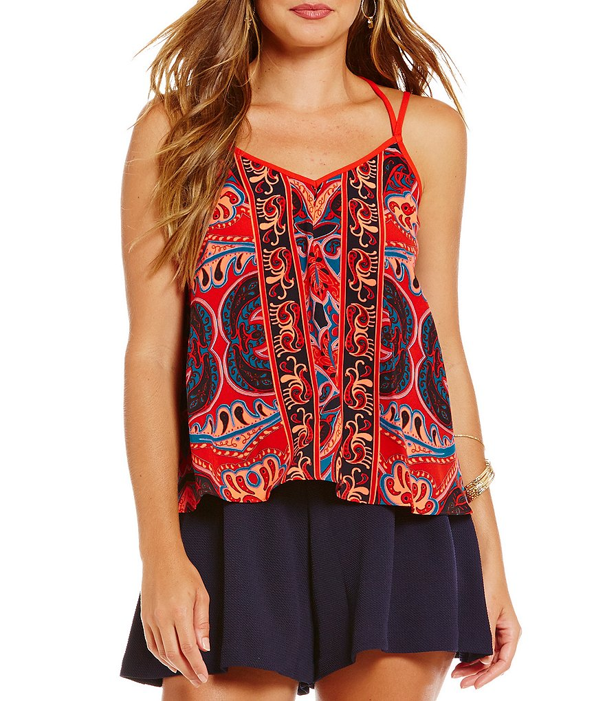 GB Printed Camisole Top